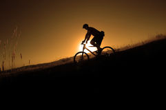 Berg Biking Stock Foto's