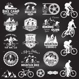 Berg biking inzameling Vector illustratie vector illustratie