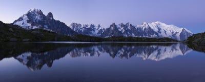 Berg Blanc stockbild