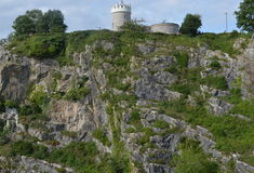 Berg, Bristol, Natur, Natur, Clifton, Park Lizenzfreie Stockfotos