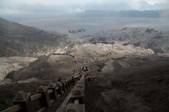 Berg Bromo, Indonesien-Landschaft Lizenzfreies Stockbild