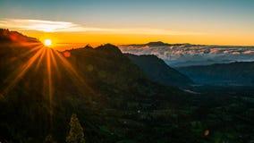 Berg Bromo, Java, Indonesien Stockbild