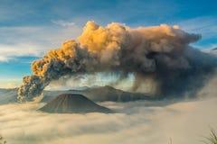 Berg bromo, probolinggo, Osttimor, Indonesien stockbild