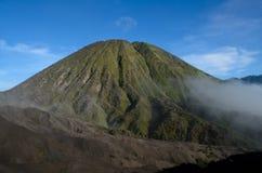 Berg Bromo und Berg Batok Lizenzfreie Stockfotos