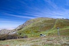 Berg Buller im Sommer Stockbild