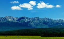 Berg Buryatia Arkivbild