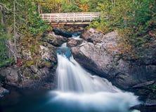 Berg Carleton Provincial Park Waterfalls lizenzfreie stockfotos