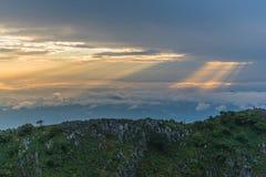 Berg Chiang Dao in Chiang Mai Lizenzfreie Stockbilder