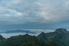 Berg Chiang Dao in Chiang Mai Lizenzfreies Stockbild