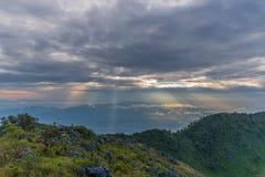 Berg Chiang Dao in Chiang Mai Stockfoto