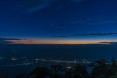 Berg Chiang Dao in Chiang Mai Lizenzfreie Stockfotos
