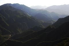 Berg in China Stockfoto