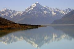Berg Cook, Nieuw Zeeland Stock Afbeeldingen