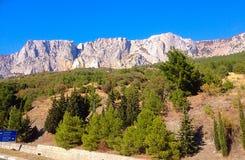 Berg Crimea Fotografering för Bildbyråer
