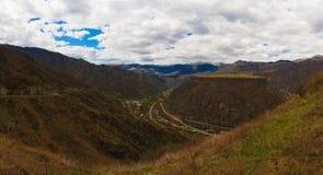 Berg dag Armenië Royalty-vrije Stock Foto's