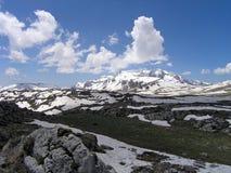 Berg de Kaukasus Royalty-vrije Stock Foto's