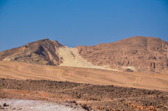 Berg in de Woestijn Royalty-vrije Stock Foto's