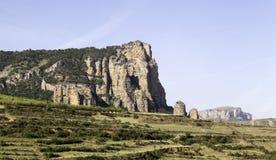 Berg in der Landschaft lizenzfreies stockbild