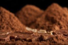 Berg der Schokolade Lizenzfreie Stockfotos