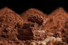Berg der Schokolade Lizenzfreies Stockfoto