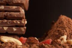 Berg der Schokolade Lizenzfreies Stockbild