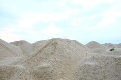 Berg des Sandes Lizenzfreies Stockfoto