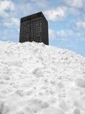 Berg des Schnees Lizenzfreies Stockfoto