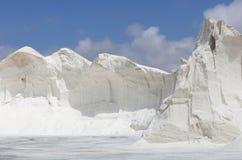 Berg des Seesalzes Stockbild