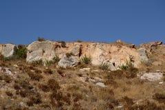 Berg dichtbij Jeruzalem Royalty-vrije Stock Foto's