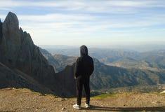Berg - Djurdjura - ALGERIJE Stock Fotografie