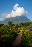 Berg Doi Chiang Dao Stockfotos