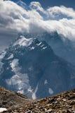 Berg Dombai, de Kaukasus, Rusland Stock Foto