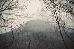 Berg durch Brunchs Stockfoto