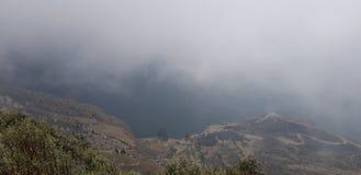 Berg Ecuador arkivbilder