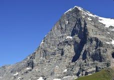 Berg eiger Schweizer-Alpen Lizenzfreies Stockfoto
