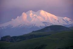 Berg Elbrus. Stockfoto