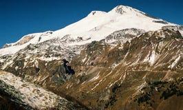 Berg Elbrus. Royalty-vrije Stock Afbeeldingen
