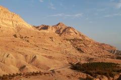 Berg en hemel Stock Afbeelding