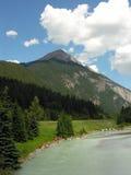 Berg en Meer Stock Foto's