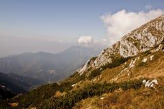 Berg en wolken Stock Fotografie