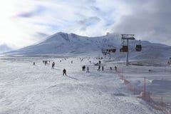 Berg Erciyes, die Türkei lizenzfreie stockbilder