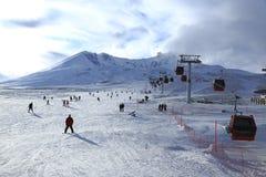 Berg Erciyes, die Türkei stockbild
