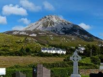 Berg Errigal. Stockbild