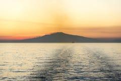 Berg Etna Sunset lizenzfreie stockbilder