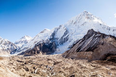 Berg-Everest-Landschaft Stockfotos