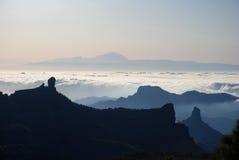 berg för 1 canaria gran fotografering för bildbyråer