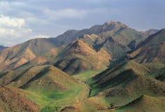 berg för 1 mongolian Arkivfoto