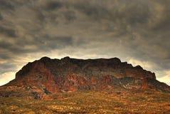 berg för 108 öken Royaltyfri Fotografi