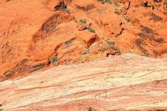 berg för 2 fotvandrare Royaltyfri Fotografi