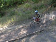 berg för 7 cykel arkivbilder